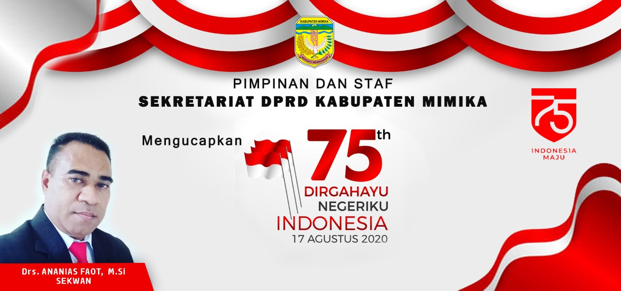 HUT Republik Indonesia Ke 75